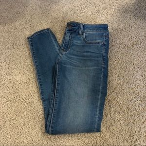 low rise american eagle jeans